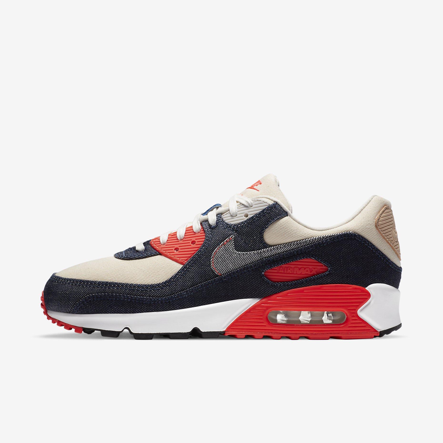 Denham x Nike Air Max 90}