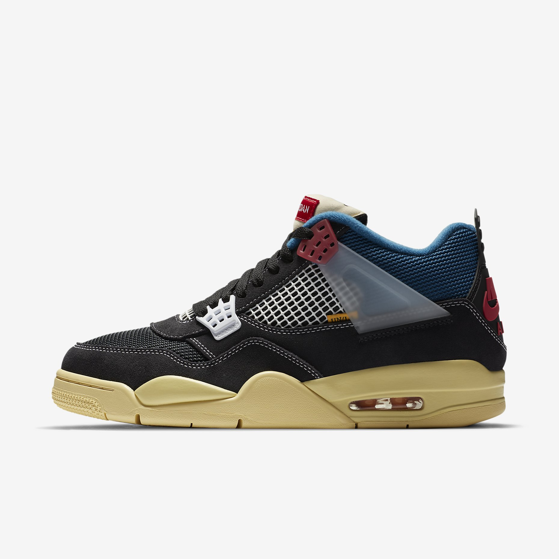 Air Jordan 4 Retro SP x Union 'Off Noir'}