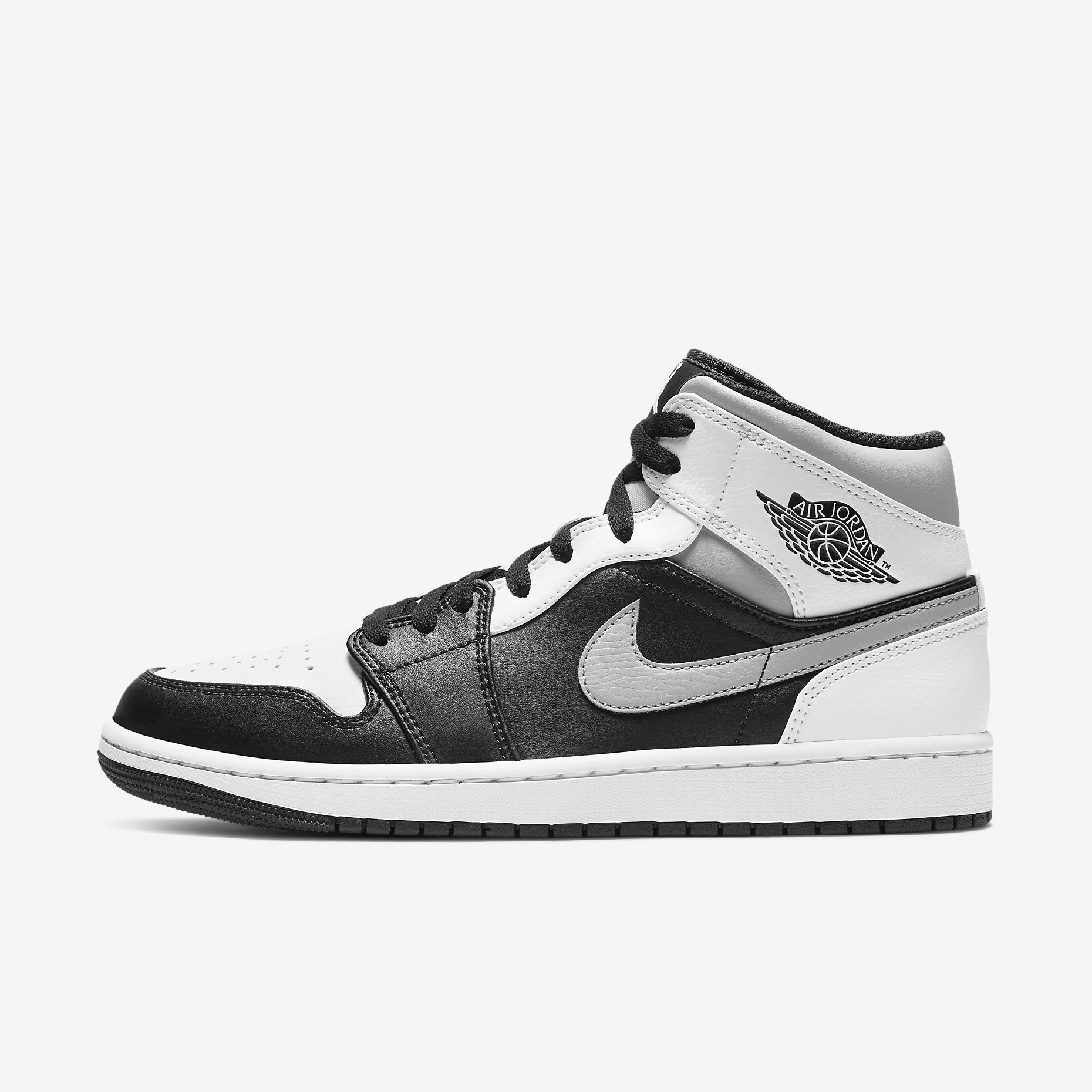 Air Jordan 1 Mid 'White Shadow'}