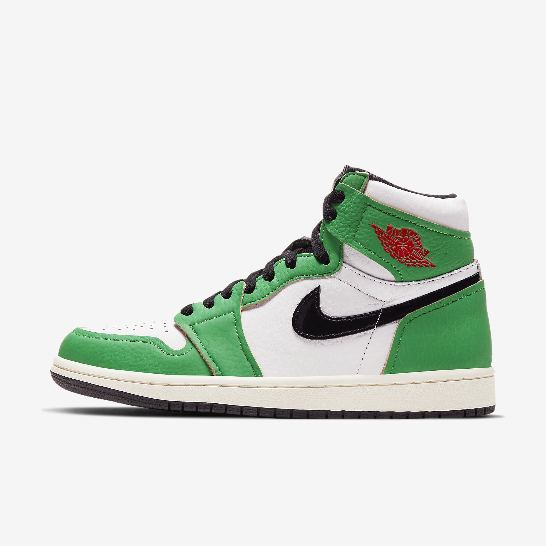 Wmns Jordan 1 Retro High 'Lucky Green'}