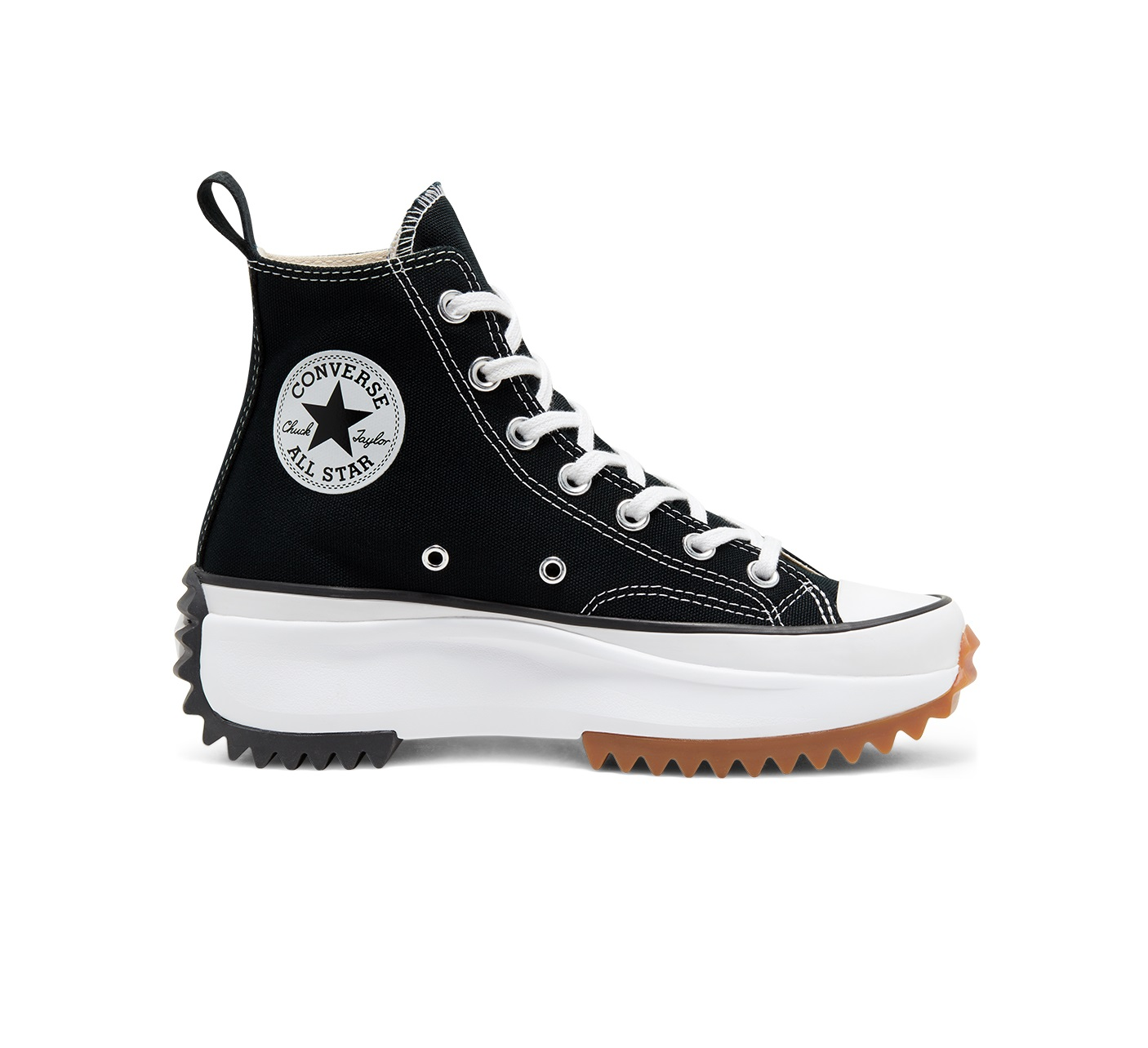 Converse Run Star Hike High 'Black}