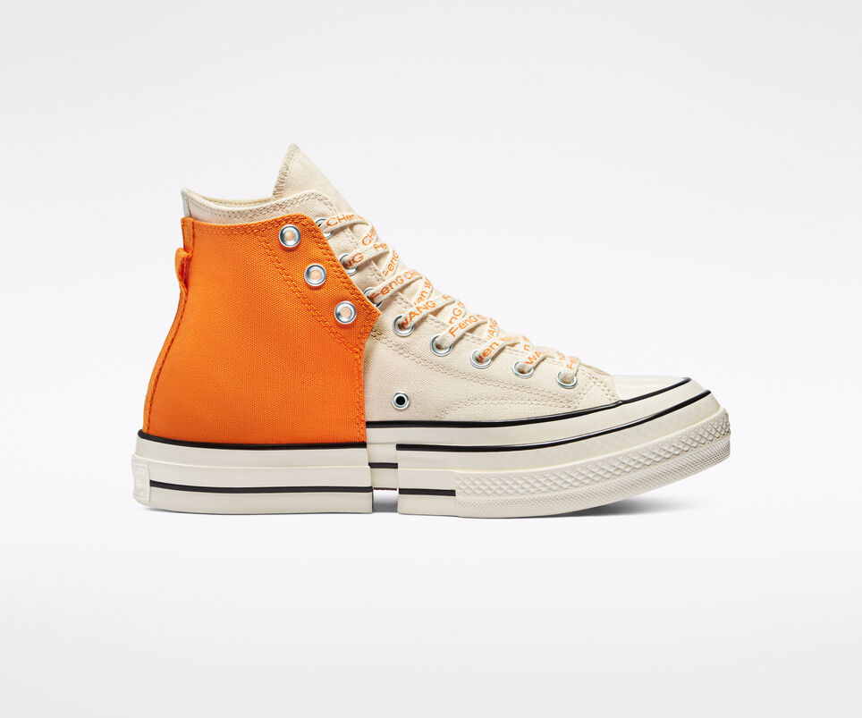Converse x Feng Chen Wang 2-in-1 Chuck 70 'Persimmon Orange/Natural Ivory'}