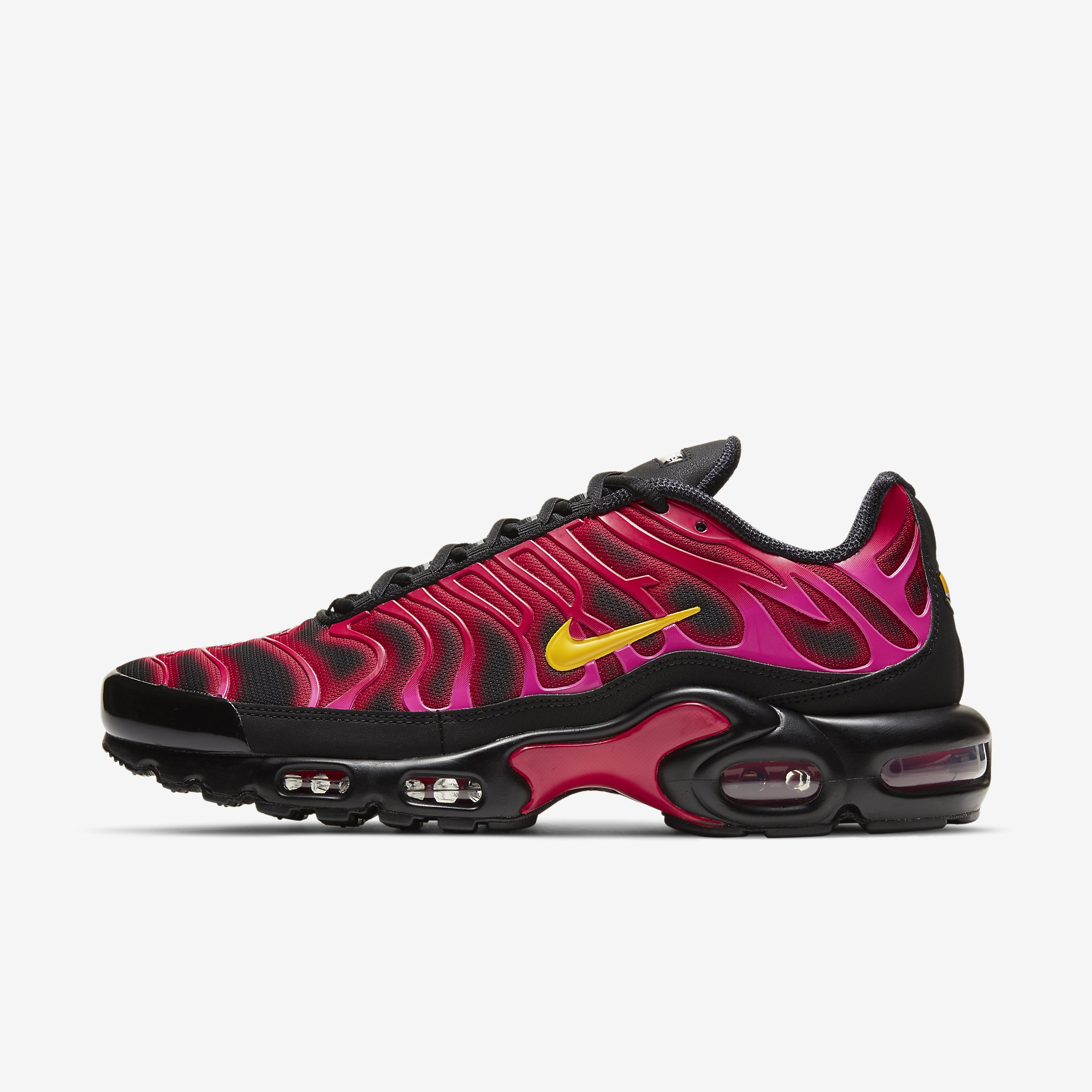 Supreme x Nike Air Max Plus 'Fire Pink'}