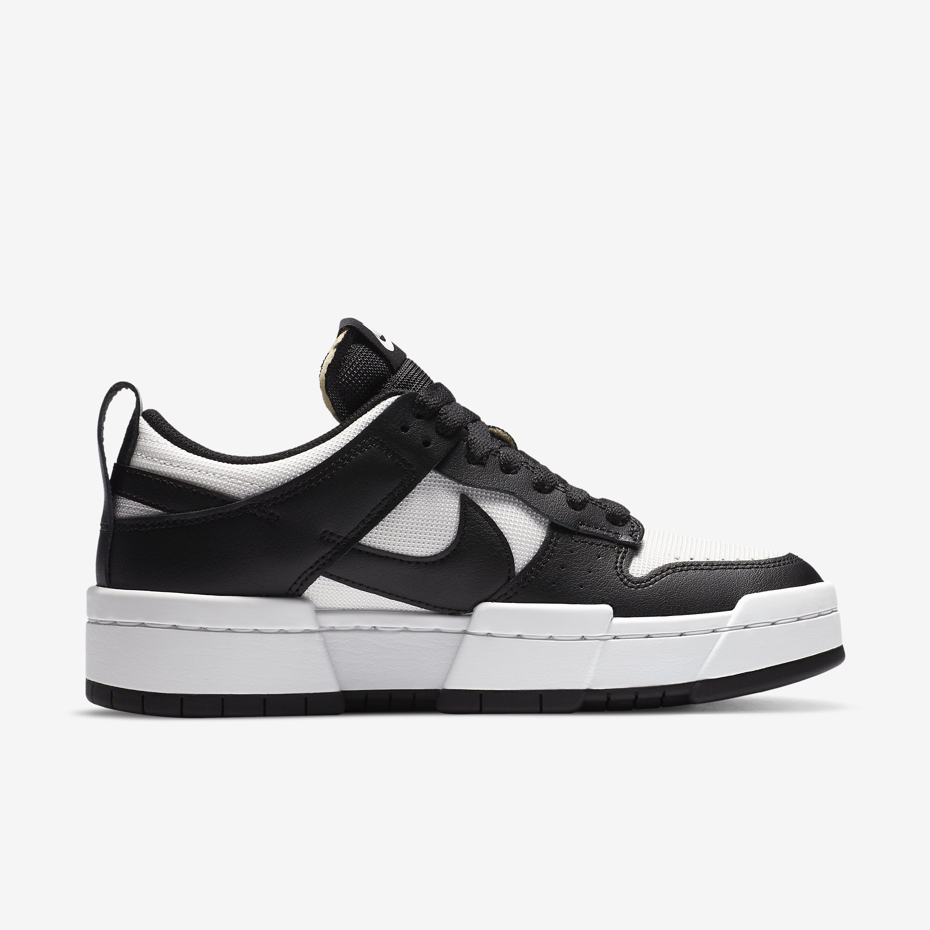 Women's Nike Dunk Low Disrupt 'Black/Summit White'}