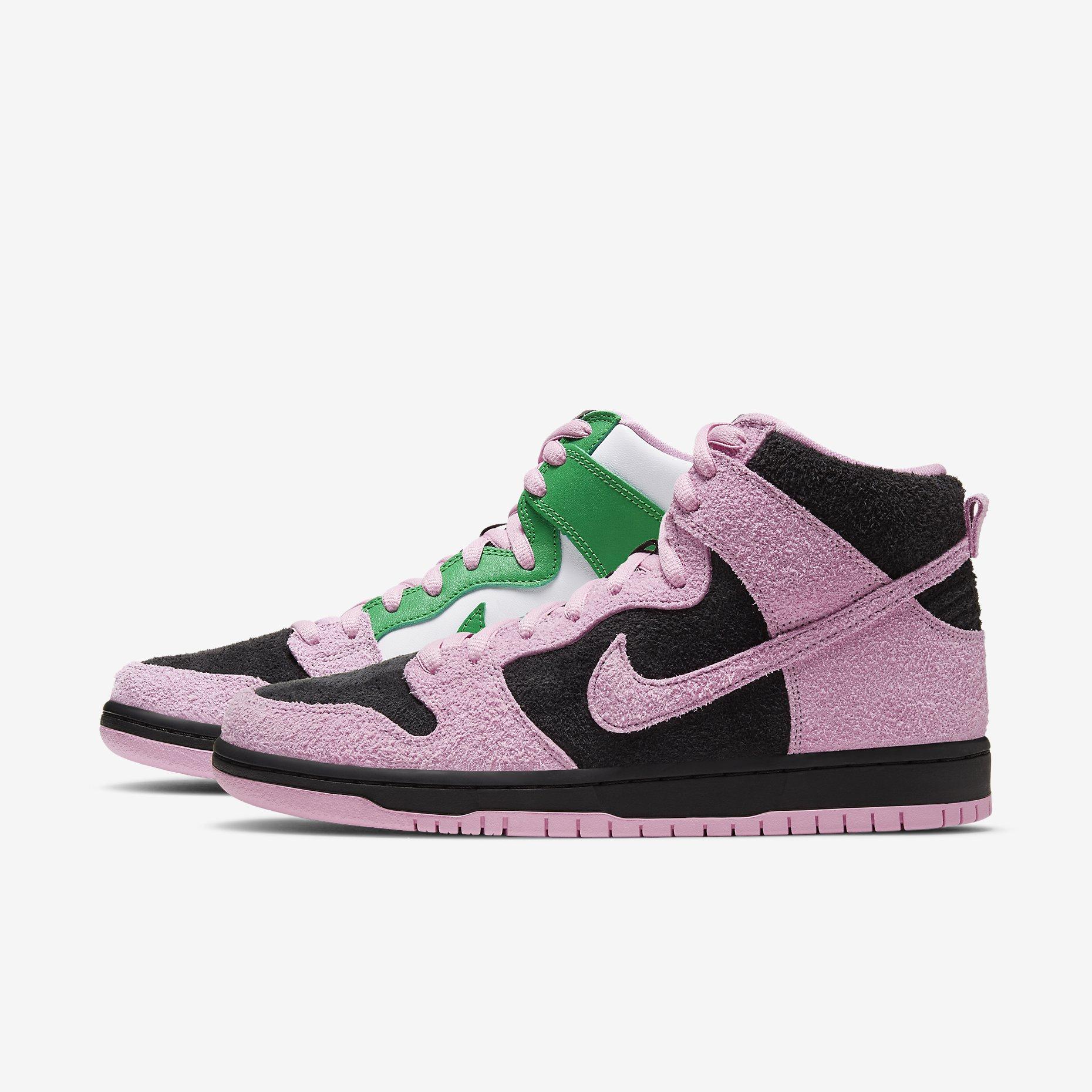 Nike SB Dunk High Pro PRM 'Invert Celtics'}