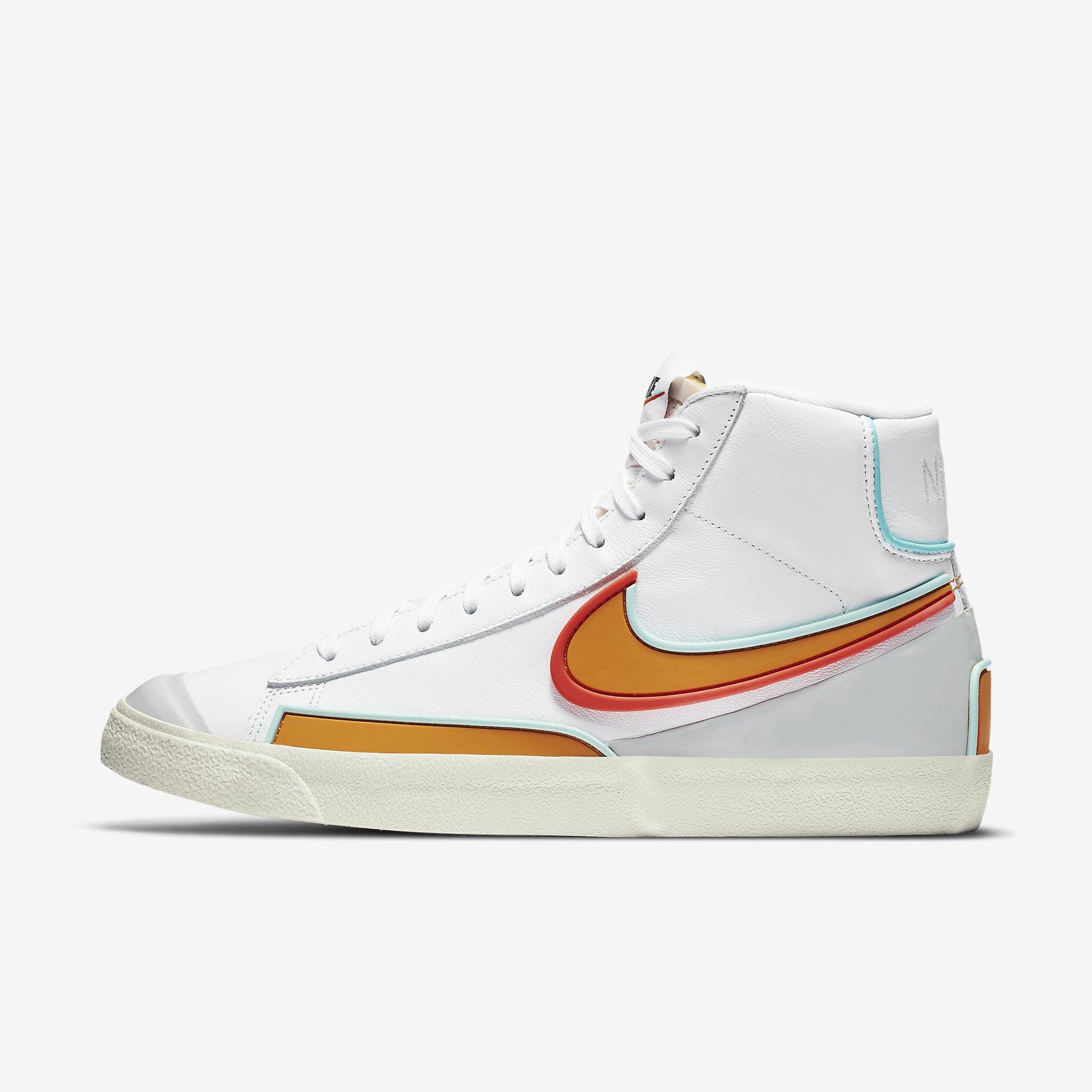 Nike Blazer Mid '77 Infinite 'White/Kumquat'