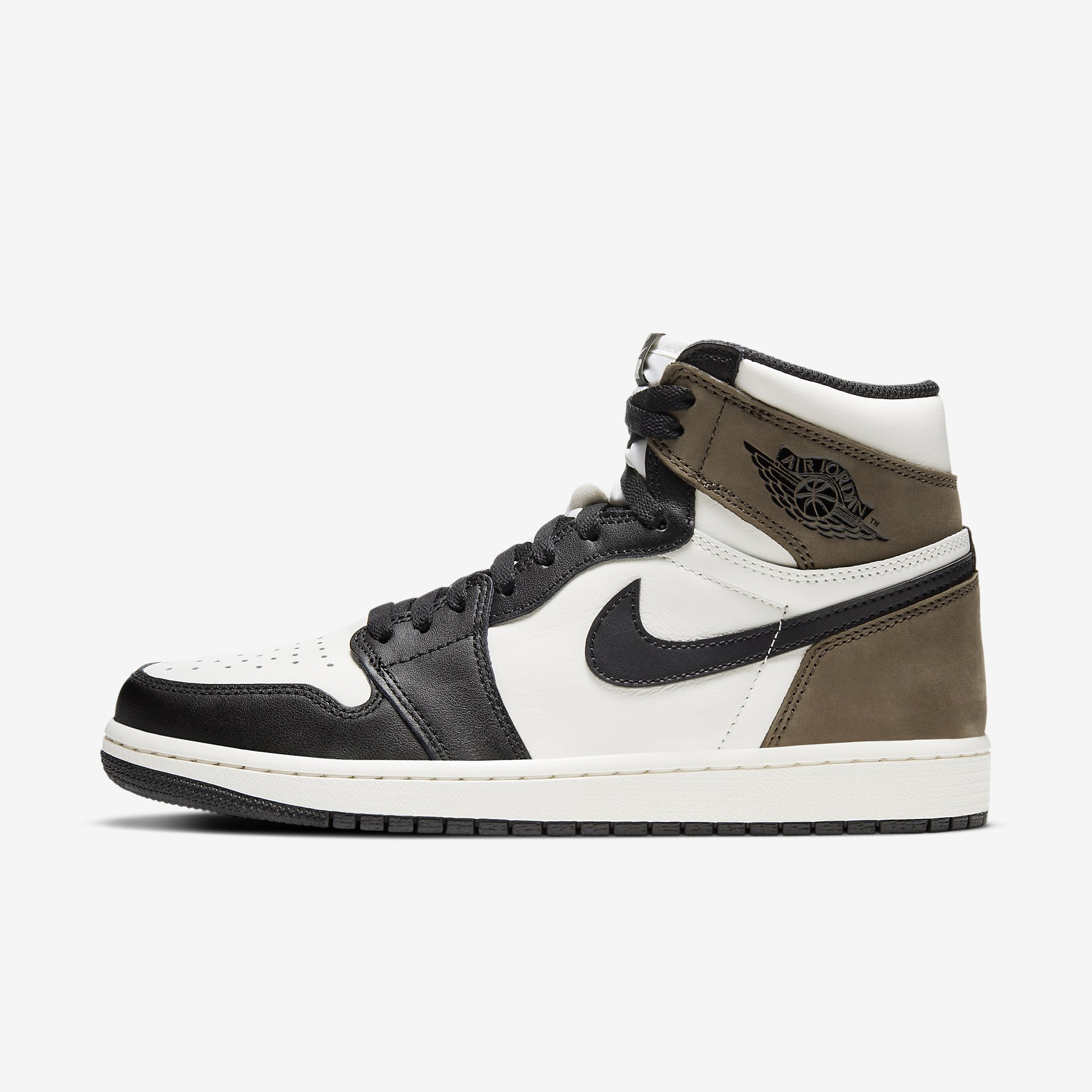 Air Jordan 1 Retro High OG 'Black Mocha'}