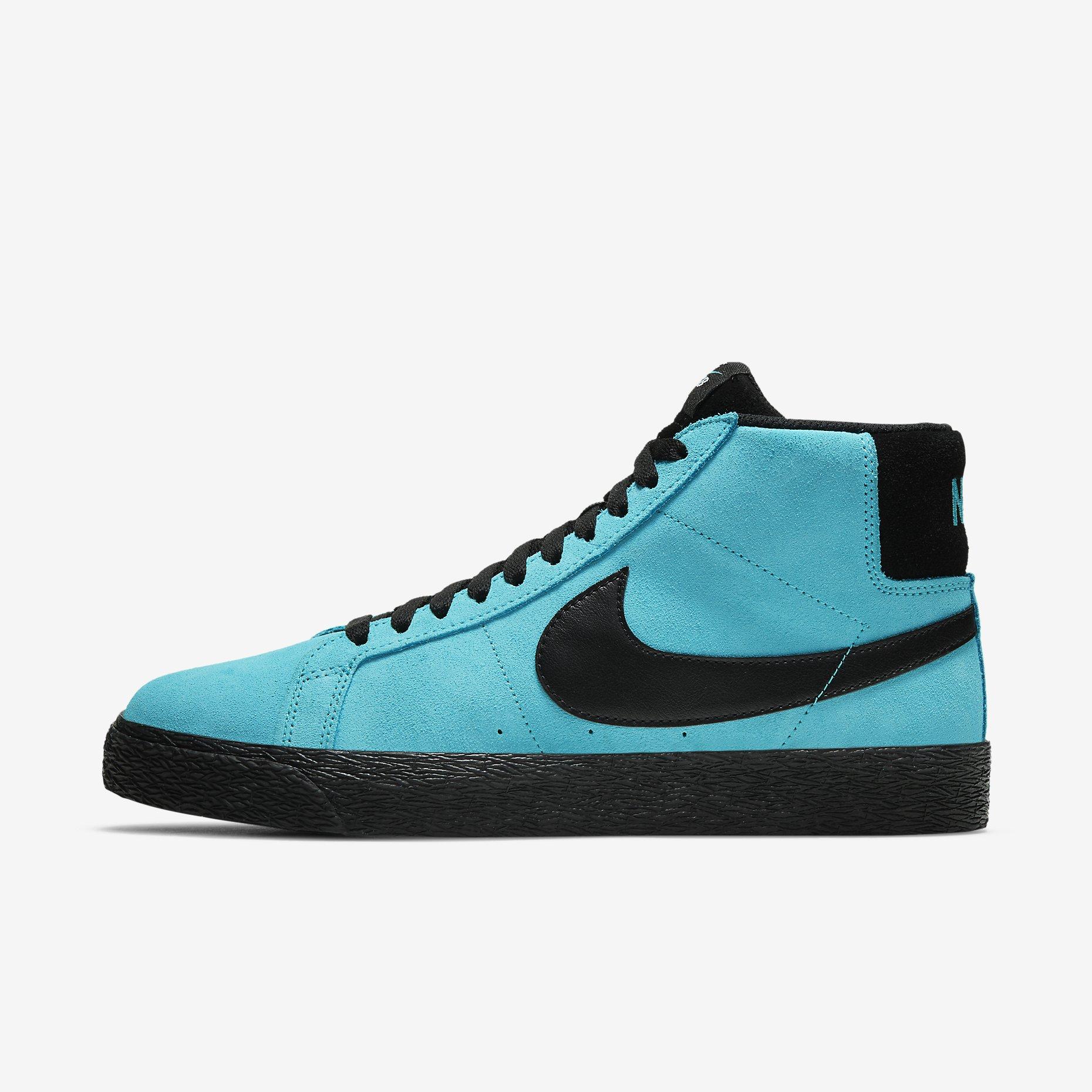 Nike SB Zoom Blazer Mid 'Baltic Blue'