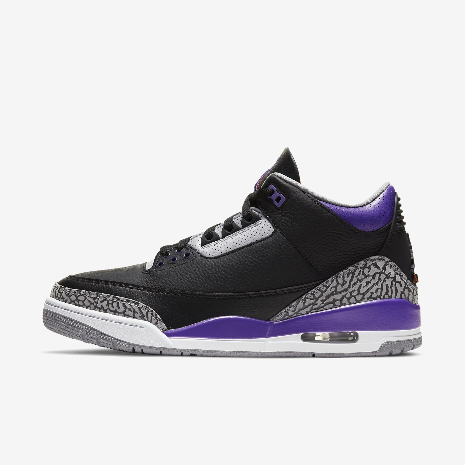 Air Jordan 3 Retro 'Court Purple'}
