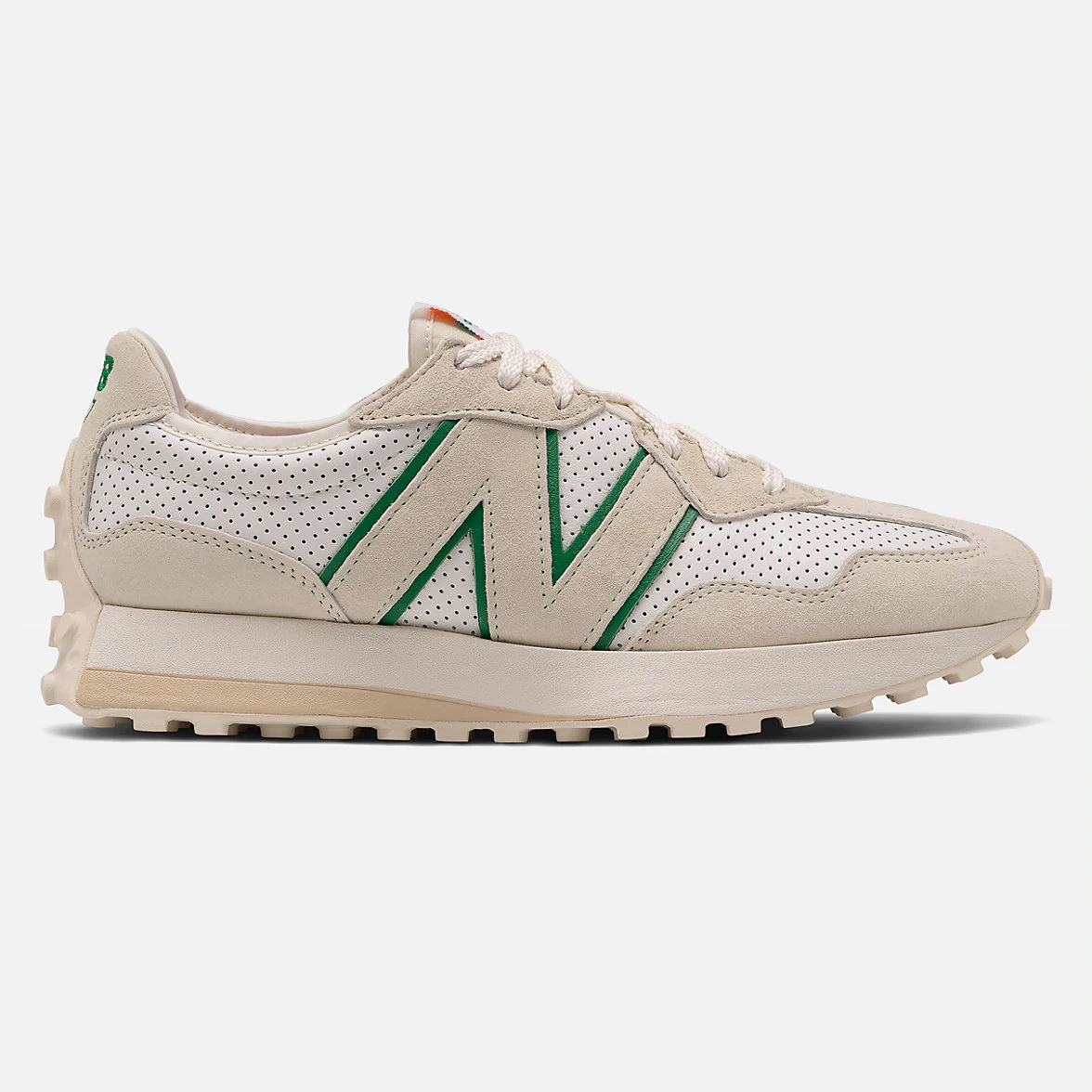 Casablanca x New Balance 327 'Off White/Green'}