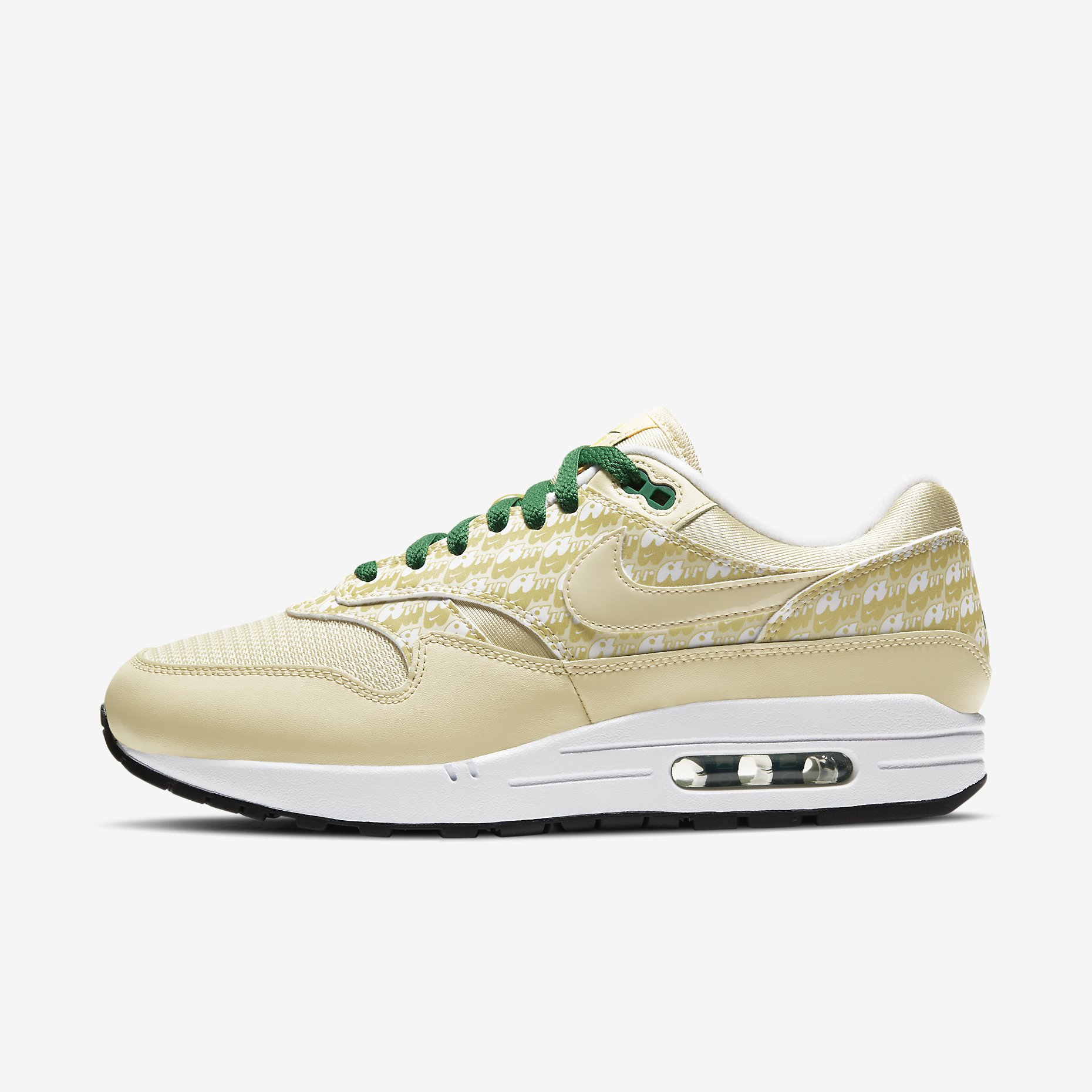 Nike Air Max 1 Premium QS Powerwall 'Lemonade'}
