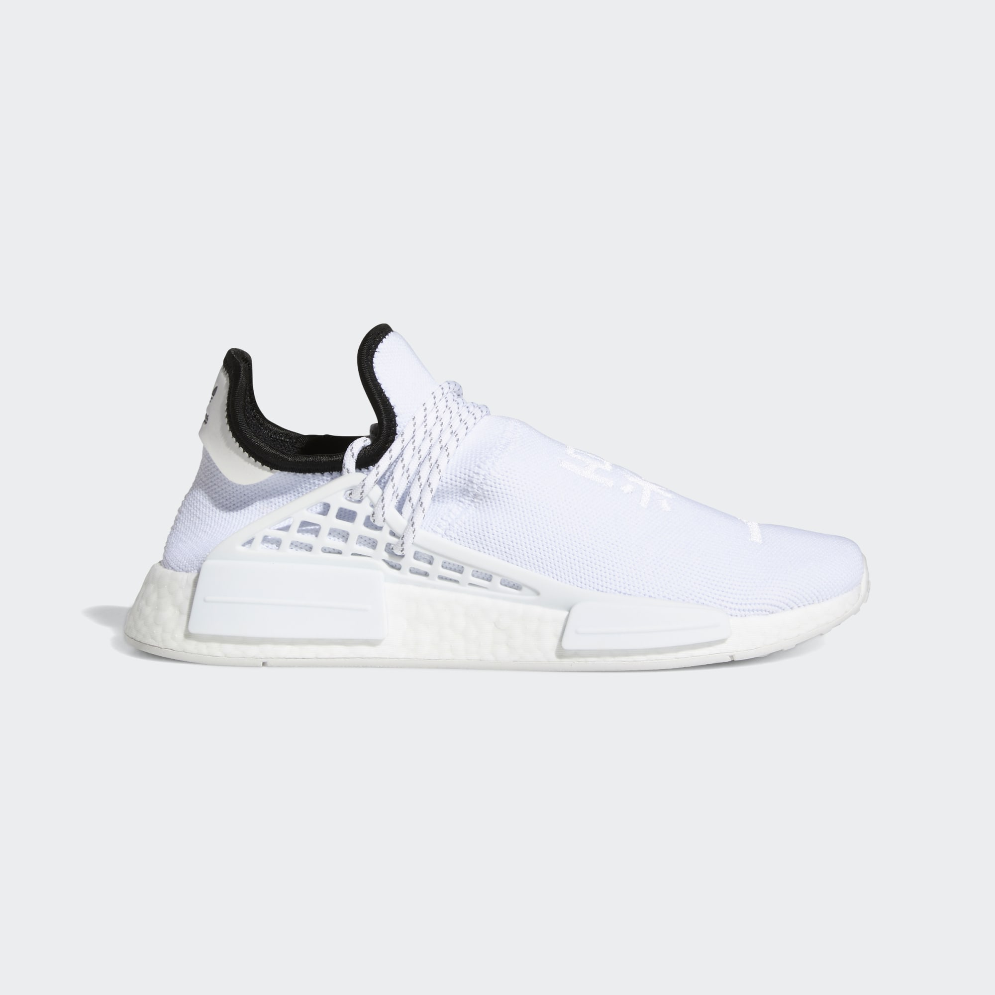 Pharrell Williams x adidas Originals NMD HU 'Core White'}