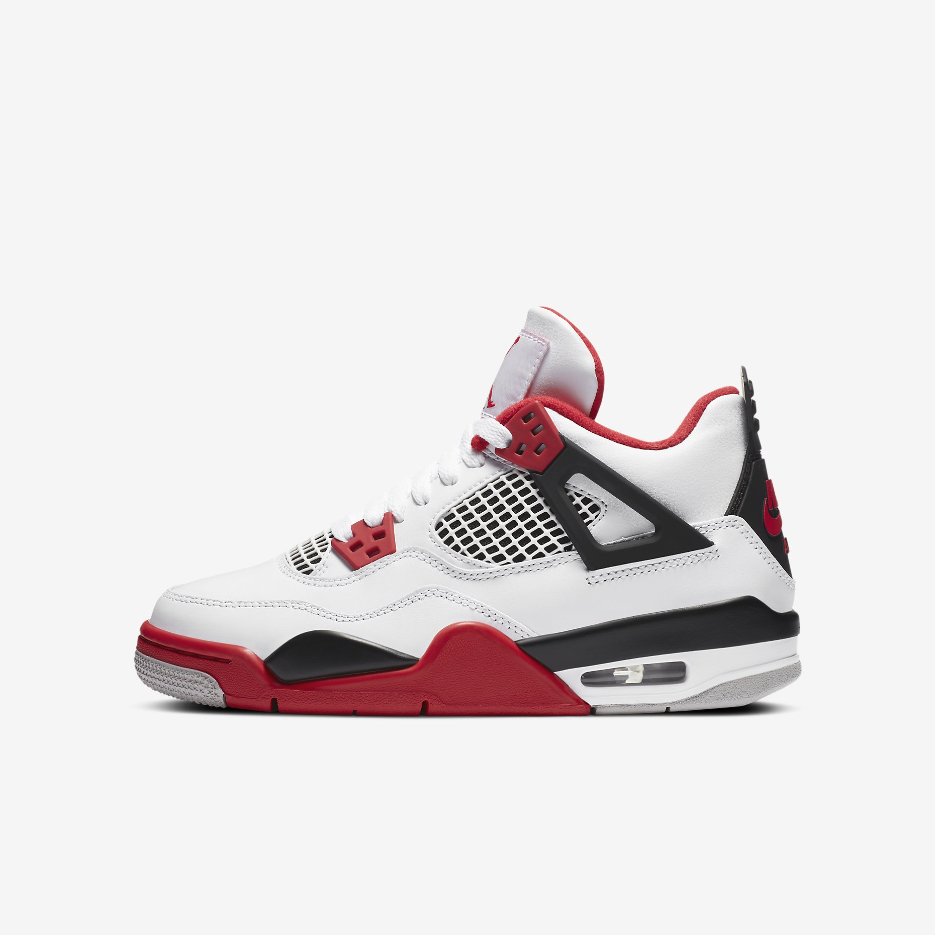 Air Jordan 4 Retro GS 'Fire Red'}
