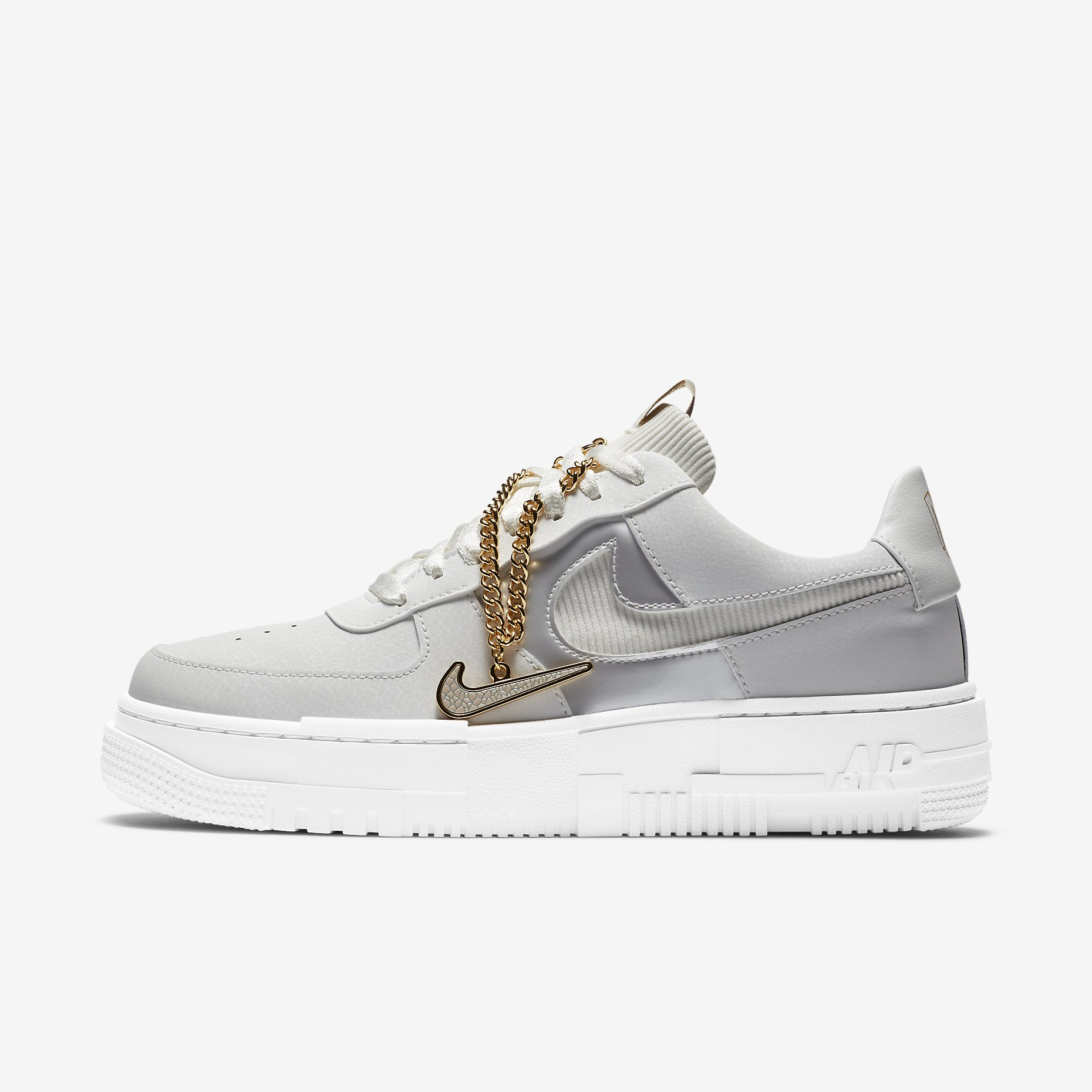 Women's Nike Air Force 1 Pixel 'Summit White/Dark Beetroot' }