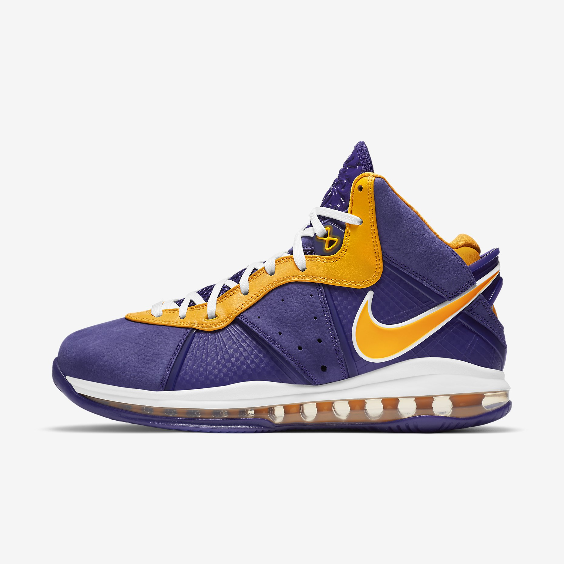 Nike LeBron 8 'Lakers'}
